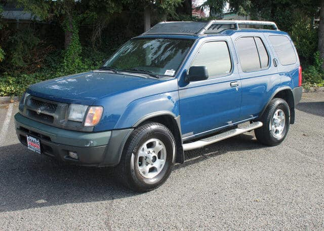 2001 Nissan Xterra Blue SUV 4x4