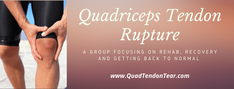 Quadriceps Tendon Rupture Facebook Group