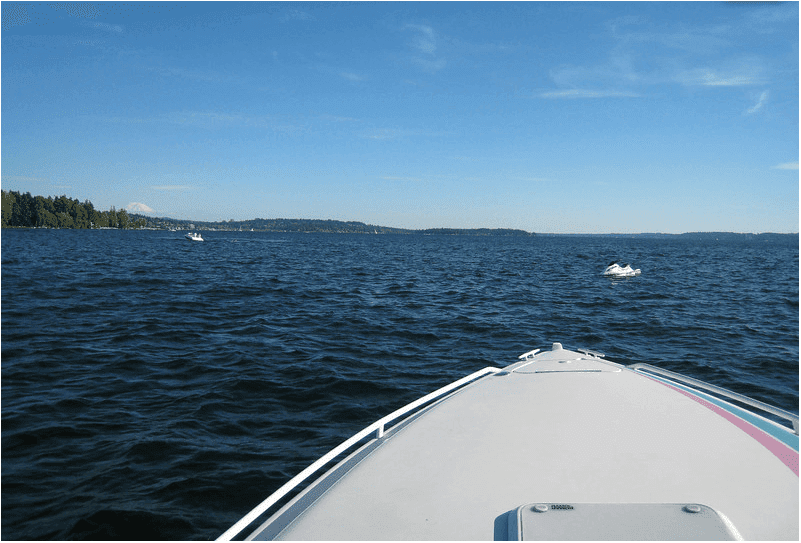 jet ski lake washington state leg quad injury