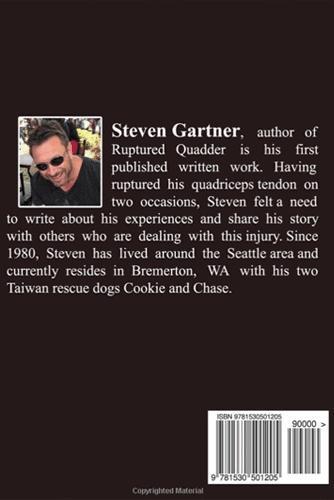 Ruptured Quadder Steven Gartner Amazon Book